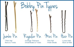 Various Sized Bobby Pins